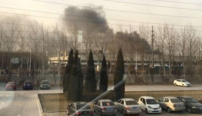 Samsung Note 7 Batteries Start Fire At Chinese Factory (3 pics)