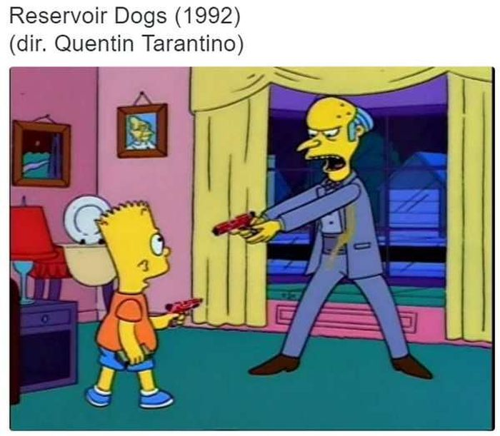 Scenes From The Simpsons That Are Just Like Famous Movies (24 pics)