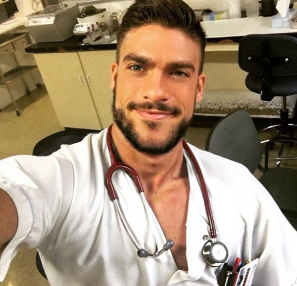 People Seem To Think This Man Is The World's Hottest Nurse (12 pics)