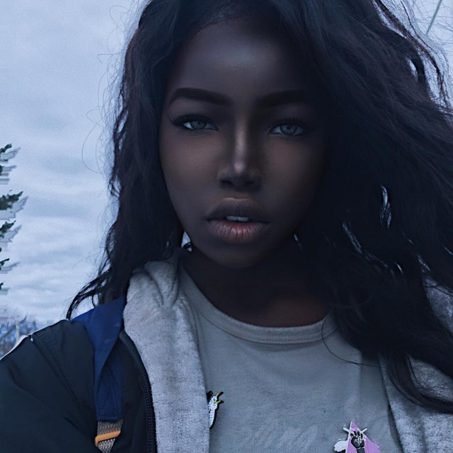 Meet The Model Who's Known As The Black Hannah Montana (11 pics)