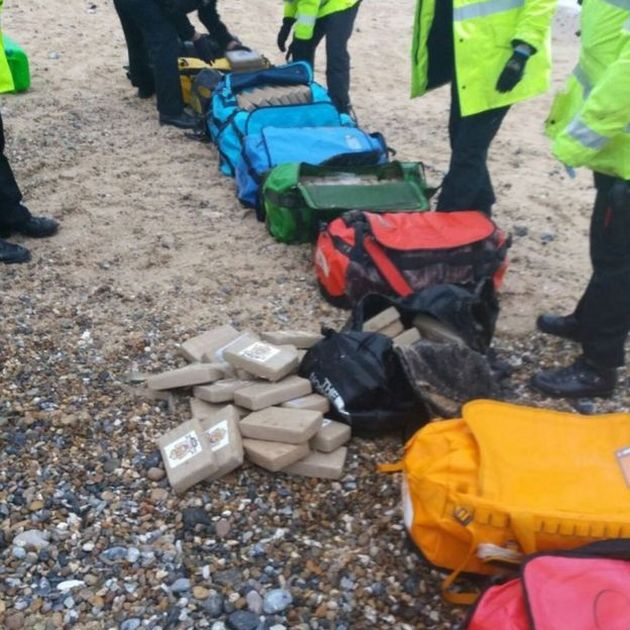 Huge Cocaine Stash Washes Up On Norfolk Beaches (2 pics)