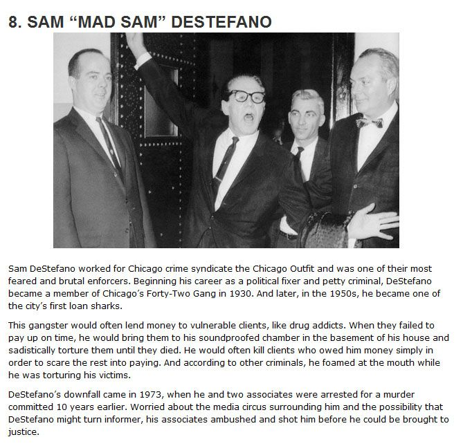 The 10 Deadliest Hitmen In The History Of The Mafia (10 pics)