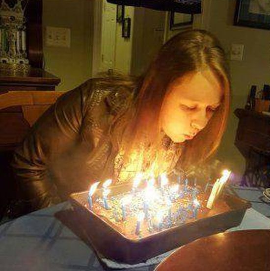 Happy Birthday Goes Up In Flames (4 pics)
