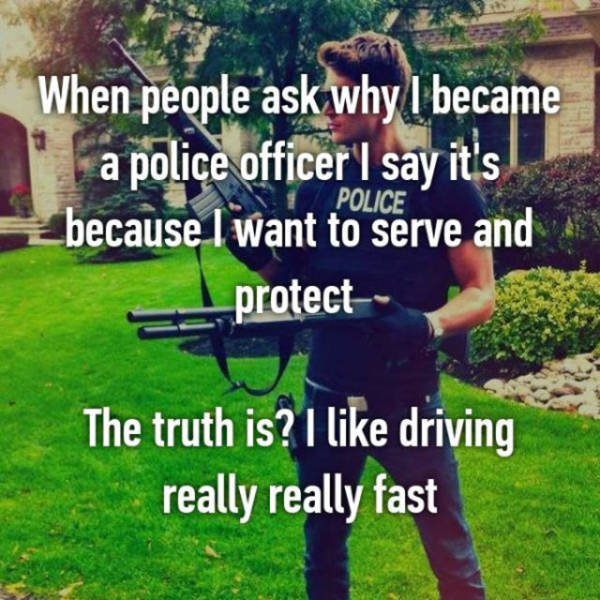 Cops Share Secrets From The Other Side (20 pics)