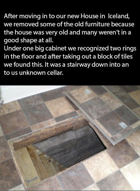 Couple Finds A Mysterious Hidden Staircase In Their New Home (9 pics)