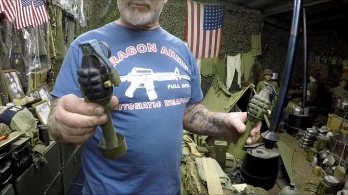 This Man Has More Weaponry Than Most Small Countries (14 pics)