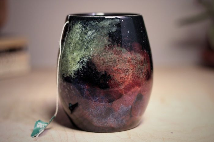 Galaxy Inspired Ceramics That Allow You To Drink From The Stars (19 pics)