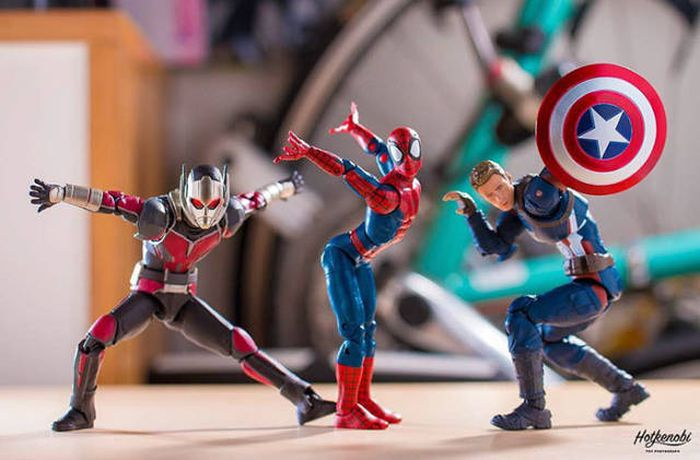This Photographer Brings Superheroes To Life (50 pics)