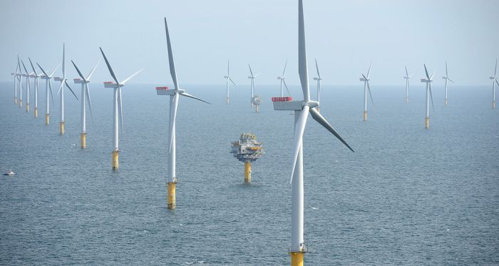 The Offshore Wind Farm In Thames Looks So Surreal  (3 pics)