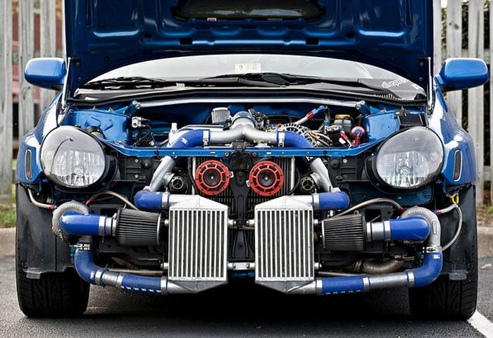 Twin Turbo Pics That All Car Lovers Can Appreciate (19 pics)