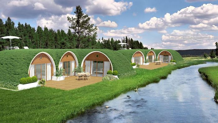 Hobbit Homes That Are Super Affordable (10 pics)