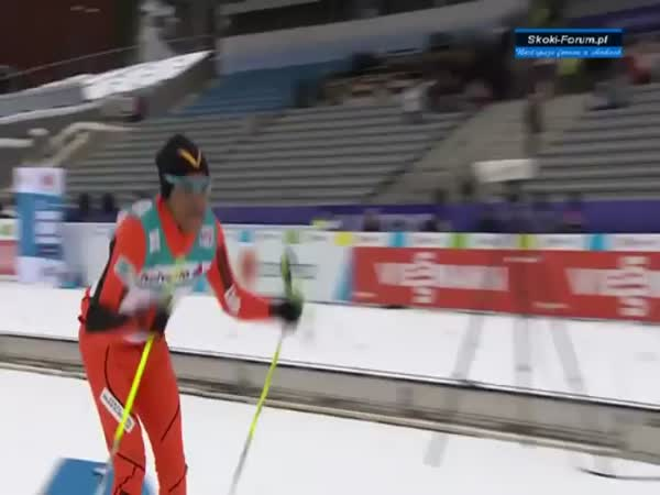 Adrian Solano, Worst Cross Country Skier Ever