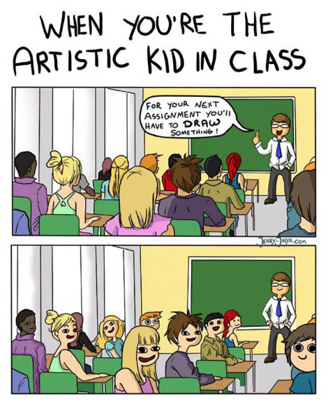 An Artist's Life Is Far From Easy (50 pics)