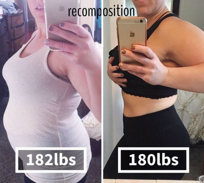 Mom Shows Off Before And After Pics Of 2 Pound Weight Loss (4 pics)