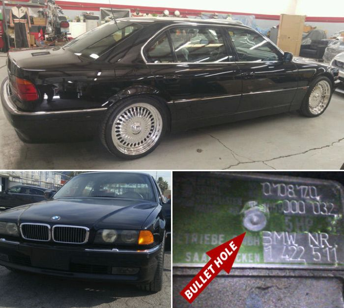 The Car Tupac Was Shot In Is Now For Sale (3 pics)