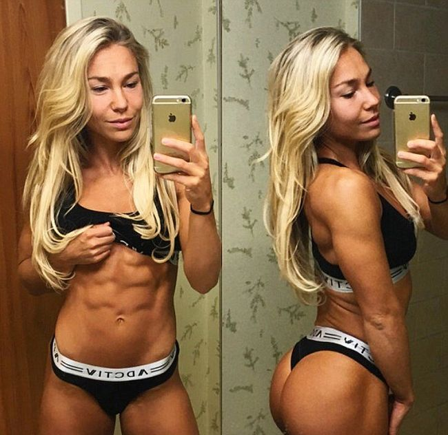 Fitness Model Achieves The Perfect Body By Giving Up Fad Diets (5 pics)