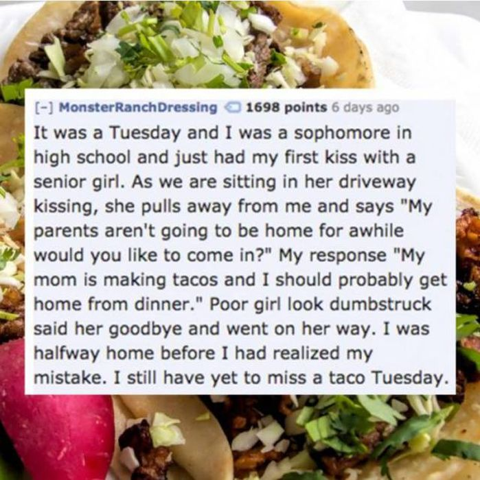 People Share Embarrassing Stories Of When They Missed Out On Sex (20 pics)