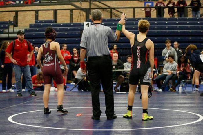 Transgender Wrestler Wins Girls Championship In Texas (8 pics)