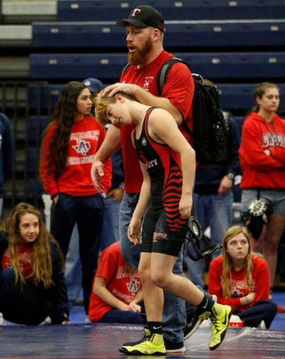 Transgender high school wrestler aims for state title