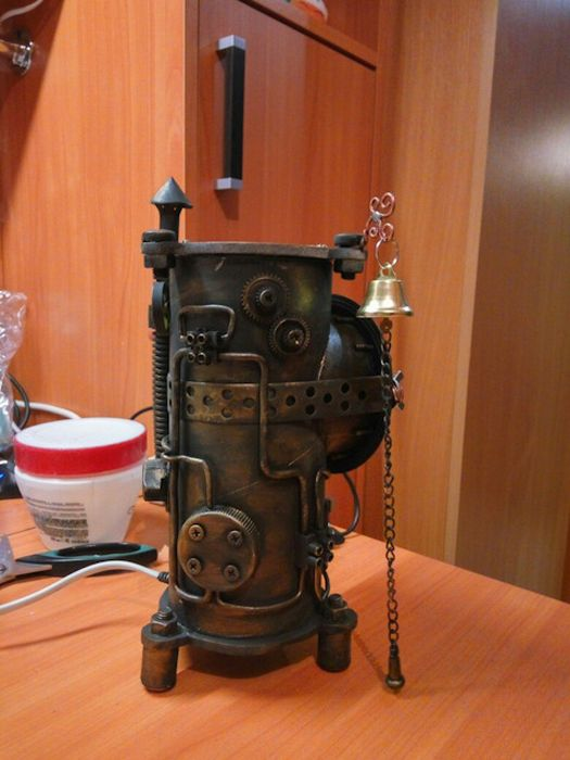 What A Steampunk Nightlight Looks Like (18 pics)