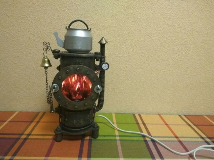 What A Steampunk Nightlight Looks Like (18 pics)