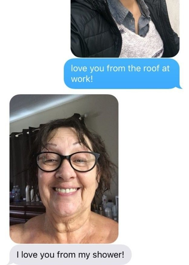 This Grandmother Sends Her Granddaughter Hilarious Selfies (5 pics)