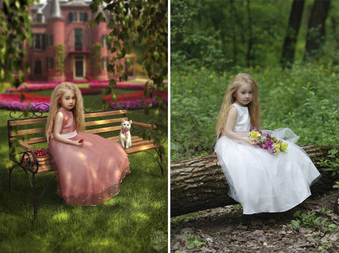 With The Power Of Photoshop This Girl Can Manipulate Realities (26 pics)