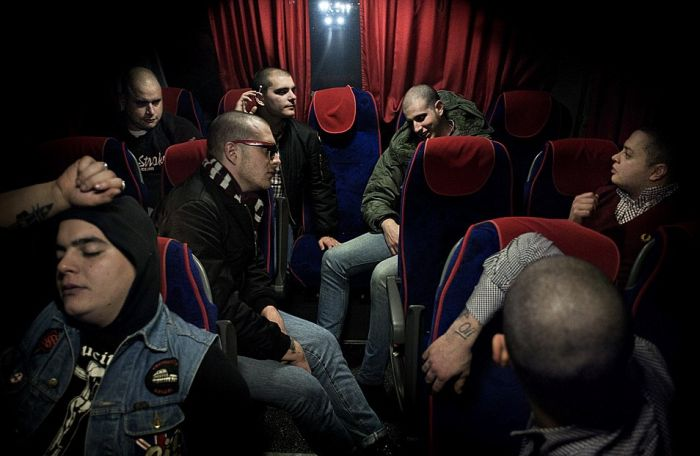 Chilling Images Of Right Wing Fascist Groups Spread Across Europe (18 pics)