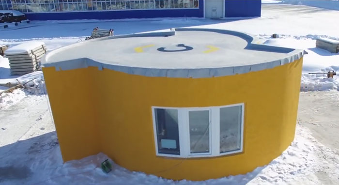 It Took 24 Hours To Print This House For Less Than $11k (10 pics)