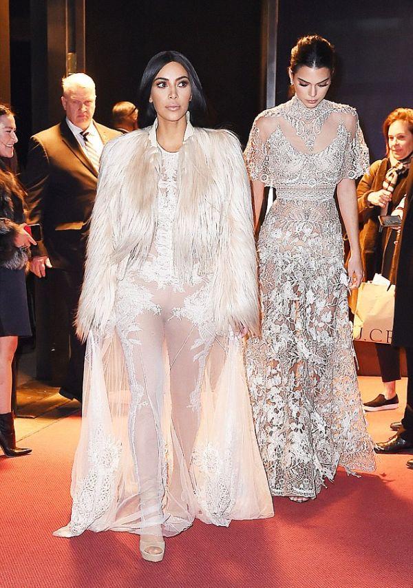 Kim Kardashian Spotted On The Set Of Ocean's Eight (8 pics)