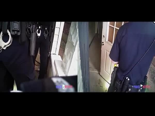 Police Officer Shoots Unarmed Suspect Hiding Behind Mattress