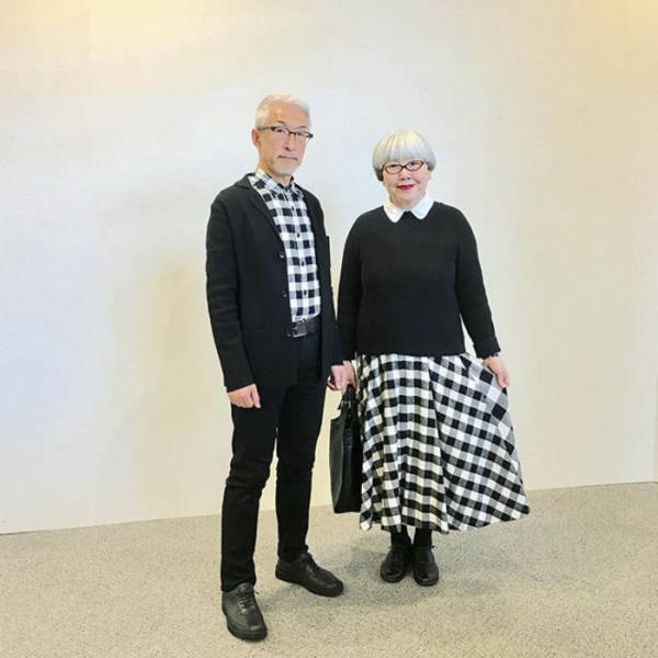 This Japanese Couple Has Mixed 37 Years Of Love And Style (22 pics)