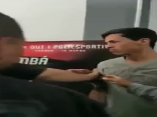 Epic Bitch Slap During MMA Weigh In