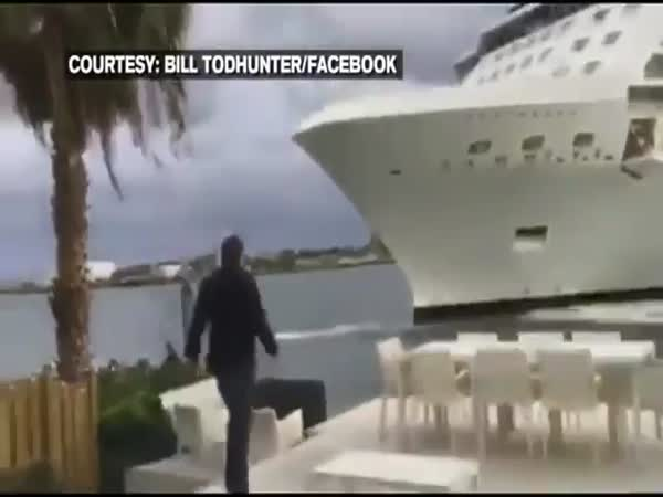 Florida Couple Shaken By Close Encounter With Cruise Ship