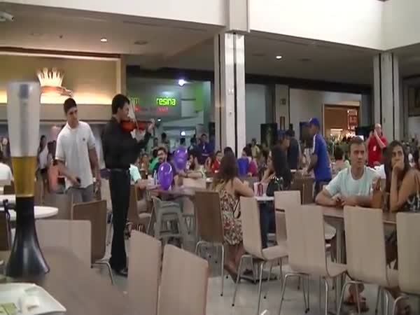 Food Court Proposal Doesn't Go As Planned