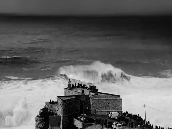 Surfing Massive Waves In Portugal Is Not For The Faint Of Heart