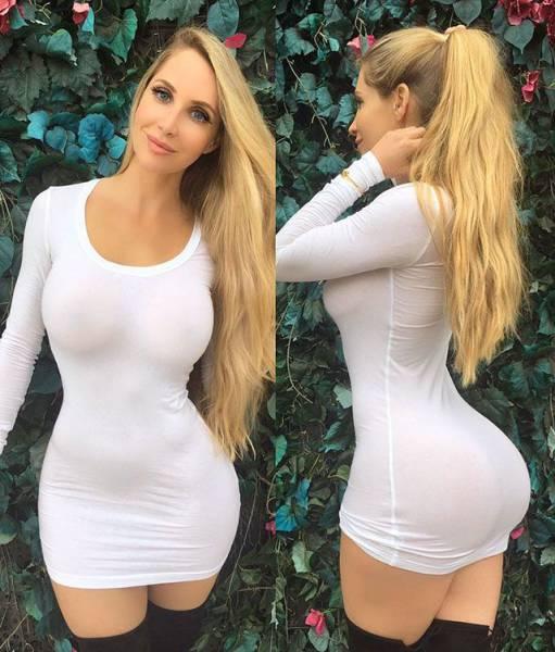 Tight Dresses Really Are A Dream Come True (60 pics)