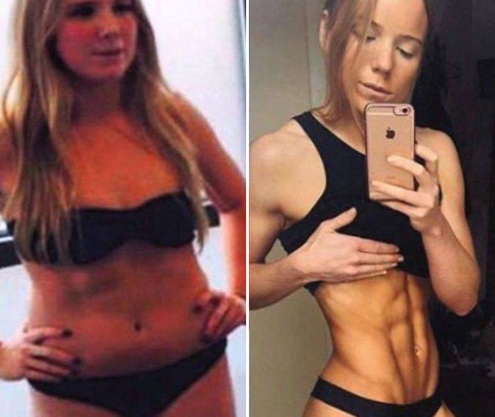 More Proof That Weight Doesn't Matter At All (3 pics)