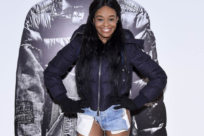 Azealia Banks Wore Short Shorts To Paris Fashion Week (7 pics)