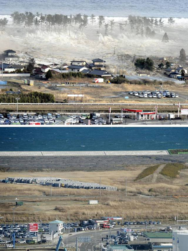 The Devastating Destruction Caused By Japan's 2011 Disasters (10 pics)