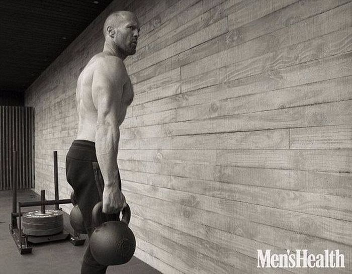 Jason Statham Shows Off His Ripped Physique For Men's Health Shoot (8 pics)