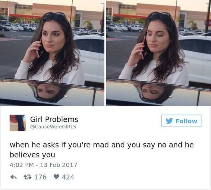 Hilarious Tweets About What It's Like To Be A Woman (21 pics)