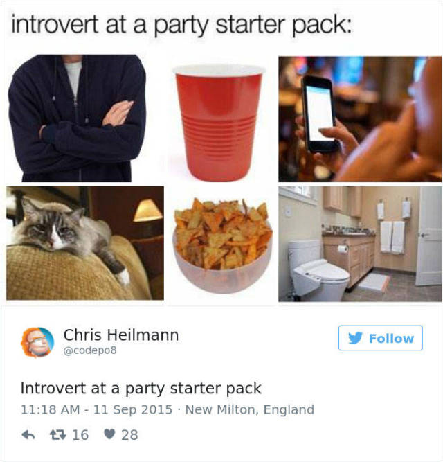 Be Proud Of Your Inner Introvert (58 pics)