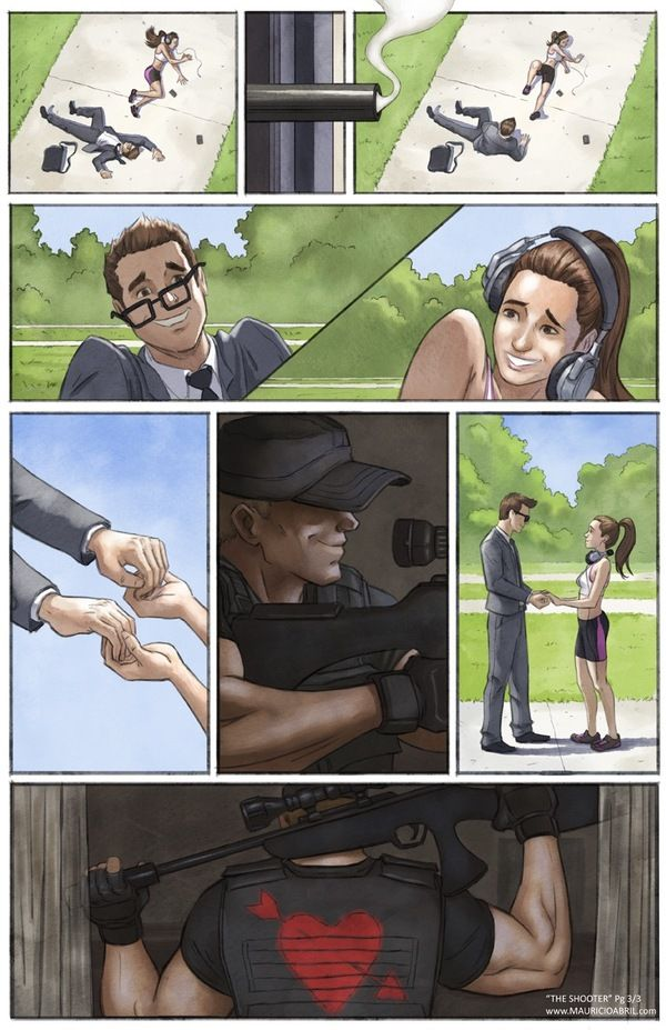 Comic Shows The Life Of A Modern Day Cupid (3 pics)