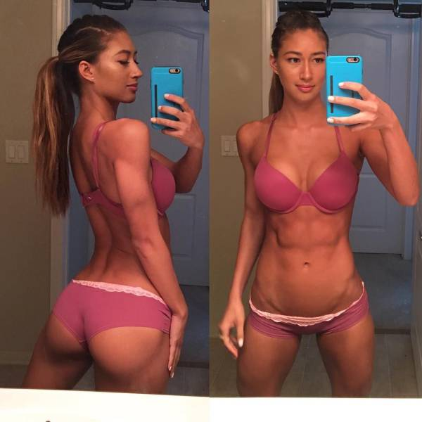 Sporty Girls With Sexy Curves That Will Stun You (63 pics)