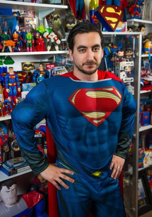 This Man Is The World's Biggest Superman Fan (11 pics)