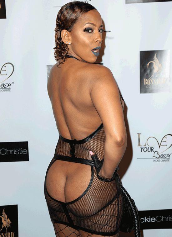 Basketball Wives Star Sundy Carter Wears Risque Dominatrix Dress (4 pics)