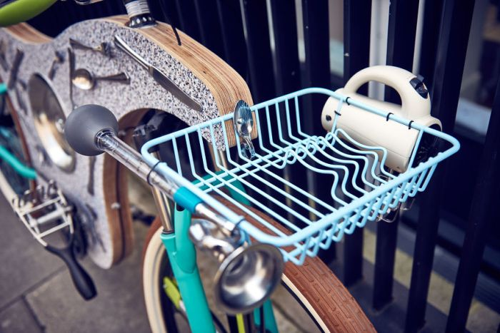 This Bike Was Constructed Using Kitchen Utensils (8 pics)