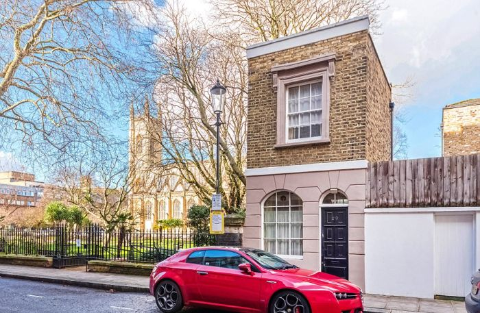 A Look At One Of London's Smallest Houses (7 pics)