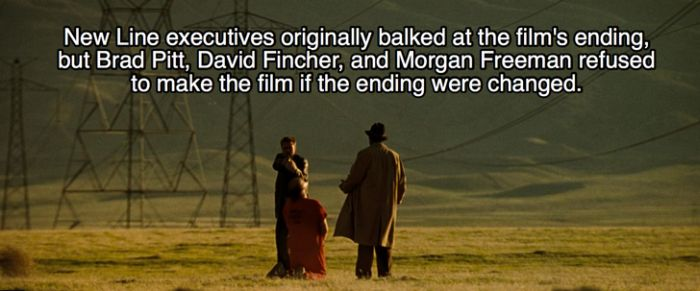 Awesome Behind The Scenes Facts About The Movie Se7en (22 pics)